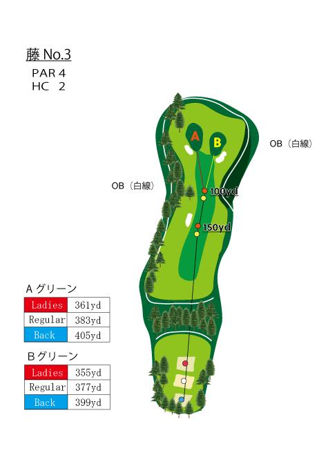HOLE NO.3(藤)